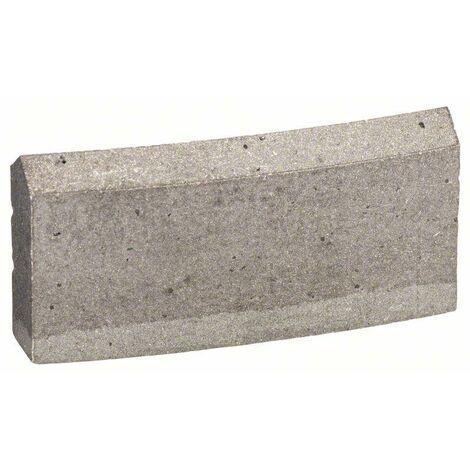 """Bosch Segment pour couronnes de forage diamantées 1 1/4"""" UNC Best for Concrete, 162 mm - 2608601394"""