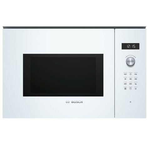 Bosch Serie 6 BEL554MW0 Intégré - Micro-ondes (Intégré, Micro-ondes grill, 25 L, 900 W, Rotatif, Toucher, Blanc)