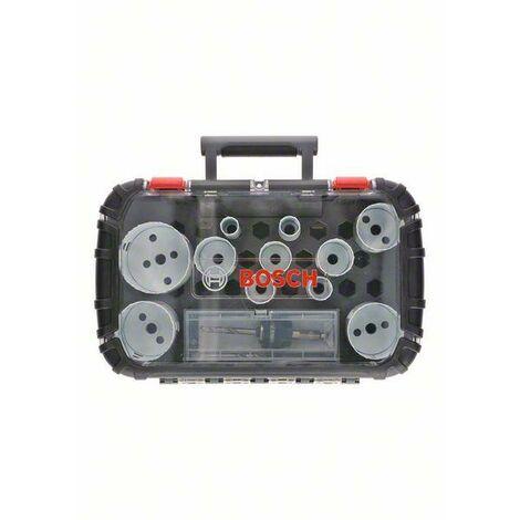 Bosch Set de scies trépan Universal, Progressor for Wood and Metal, 14-pièces - 2608594192