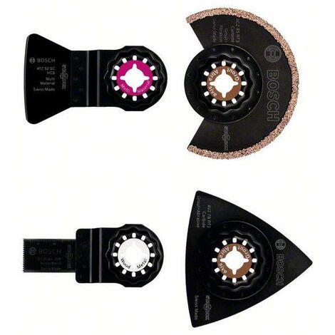 Bosch Set « Le Sanitaire - Carreleur » de 4 pièces ACZ 85 RT3 (1x); AVZ 78 RT2 (1x); ATZ 52 SC (1x); AIZ 20 AB (1x)