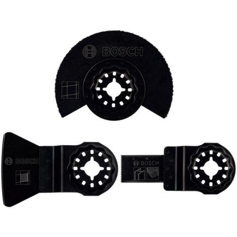 Bosch Set «Le Sanitaire - Carreleur» Starlock de 3 pièces pour outils multifonctions