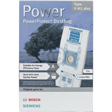 Bosch Siemens Staubsaugerbeutel & Mikrofilter Staubsauger 00577549 577549 Typ G