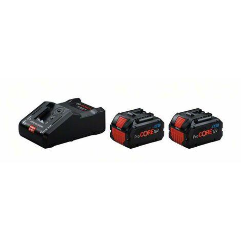 Bosch Starter-Set Starter-Set 2 x ProCORE18V 8.0Ah + GAL 18V-160 C