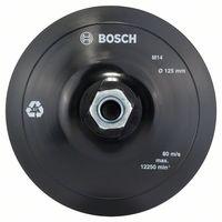 Bosch Stützteller mit Klettverschluss, 125 mm, 12.500 U/min, M14-Flaschgewinde