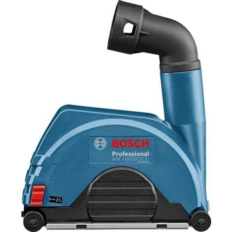 Bosch - Système d'aspiration poussière Ø 115 mm et 125 mm - GDE 115/125 FC-T Professional - TNT