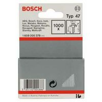 Bosch Tackernagel Typ 47, 1,8 x 1,27 x 23 mm, 1000er-Pack