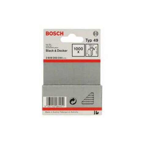 Bosch Tackerstift Typ 49, 2,8 x 1,65 x 14 mm