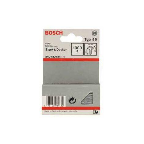 Bosch Tackerstift Typ 49, 2,8 x 1,65 x 25 mm