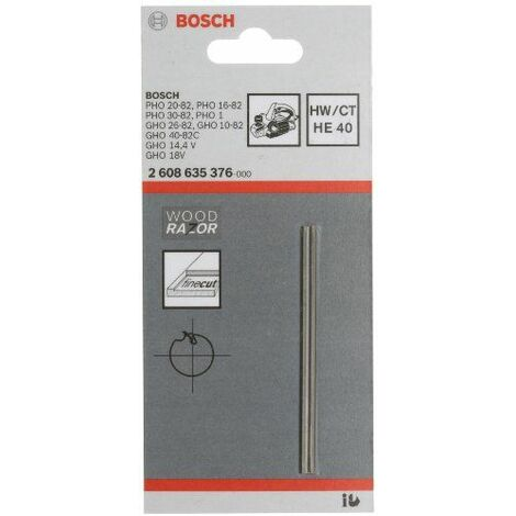 Bosch TC HE 40 / 2608635376 Lame de rabot droite