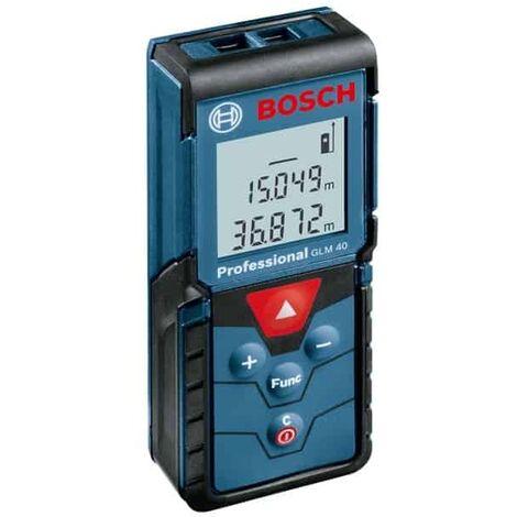 BOSCH Télémètre laser portée 40 m - GLM40 - 0601072900