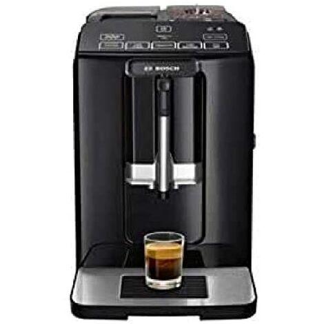 Bosch TIS30129RW - Machine à café (Autonome, Machine à espresso, 1,4 L, Café en grains, Café moulu, 1300 W, Noir)