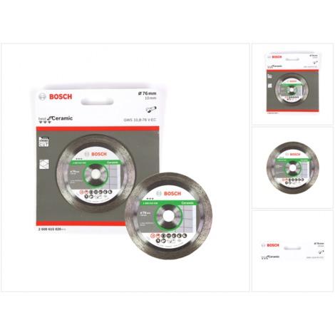 Bosch Trennscheibe Diamant für Ceramic 76 mm für GWS 10,8-76 / 12V-76 ( 2608615020 )