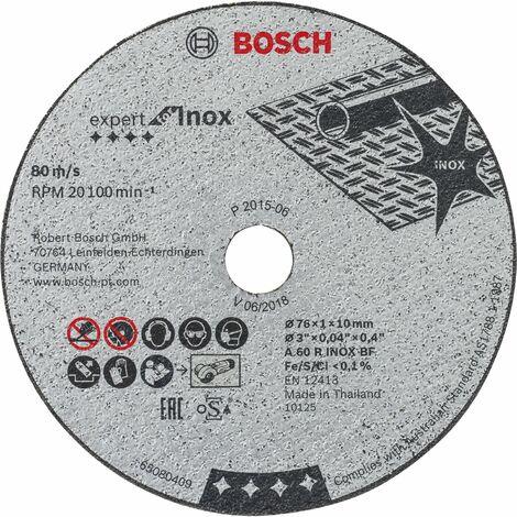 BOSCH Trennscheibe Expert for Inox ø 76 x 1 x 10 mm (5 St)