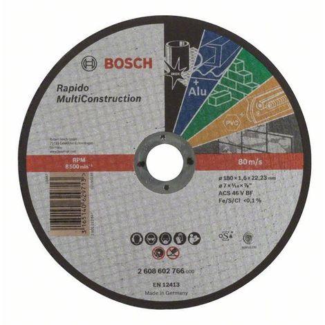 Bosch Trennscheibe gerade Rapido Multi Construction ACS 46 V BF, 180 mm, 1,6 mm