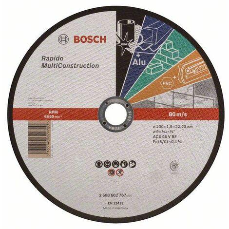 Bosch Trennscheibe gerade Rapido Multi Construction ACS 60 V BF, 115 mm, 1,0 mm 2608602384