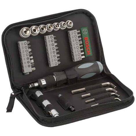 BOSCH Trousse set mixte 38 accessoires vissage - 2607019506