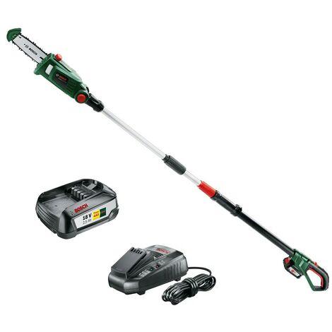 "main image of ""Bosch Universal Chain Pole 18 Long Reach Telescopic Chainsaw Cutter Pruner 18v"""