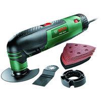 Bosch Utensile multifunzione 220W + accessori lame valigetta taglio 0603102002