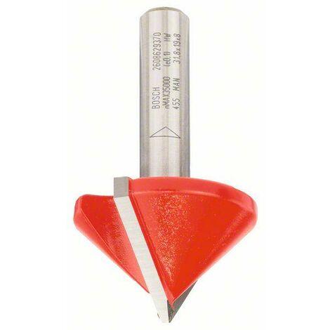 BOSCH V-NUTFRÄSER, 8 MM, D 31,8 MM, L 19 MM, G 51 MM, 90°