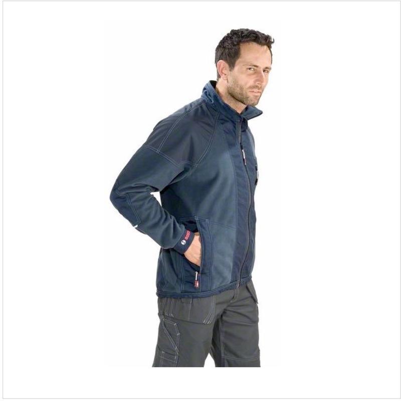 L blau 0601800106 Bosch WWJ 010 Professional Windstopper Jacke Gr