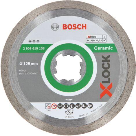 Bosch X-LOCK Diamanttrennscheiben Diamant Sägeblatt