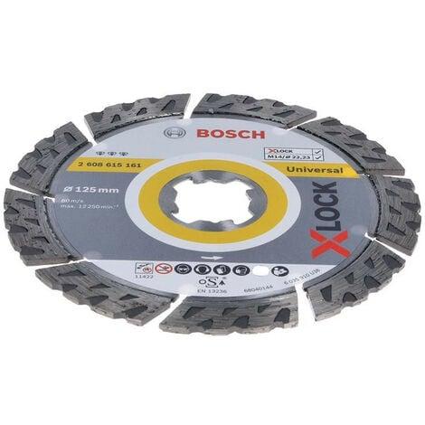 Bosch X-Lock Diamond Blade Best for Ceramic (Extra Clean Turbo) 125mm