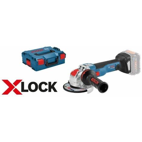 BOSCH X-LOCK meuleuse d'angle sans fil GWX 18V-10 dans L-BOXX | sans batterie ni chargeur dans L-Boxx