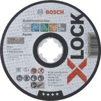 Bosch X-LOCK Trennscheibe Multi Material ACS 46 V BF, 125 mm, 1,6 mm, gerade - 2608619270