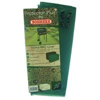 Bosmere Protector Plus Trolley BBQ Reversible Cover - Green/Black P510