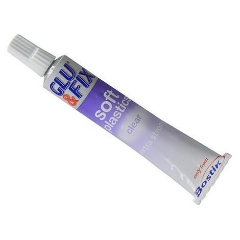 Bostik 30803650 Soft Plastic Adhesive 20ml