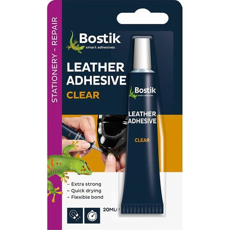 Bostik 381513 Glu & Fix Leather Adhesive 20ml