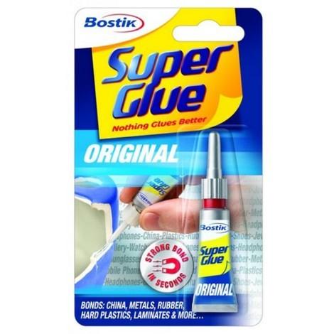 Bostik 80607 Super Glu Original Bonds in Seconds 3g