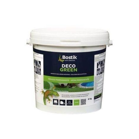 Bostik Cola Deco Green bote 6 kgs para Césped