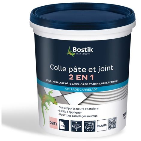 Bostik Colle et Joint 2 en 1 1,5kg
