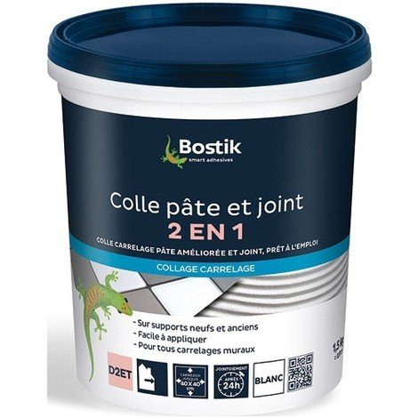 Bostik Colle et Joint 2 en 1 1,5kg