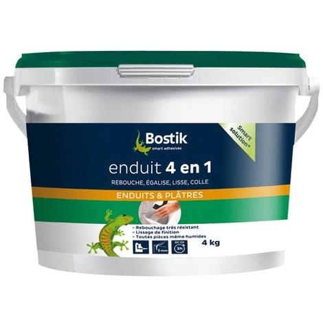 BOSTIK - Enduit 4 en 1 multi-usages pâte 4 Kg