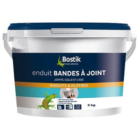 BOSTIK - Enduit bande à joint pâte - 5 kg