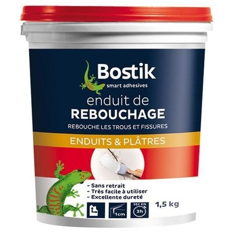 BOSTIK - Enduit de rebouchage - pâte 1.5 Kg