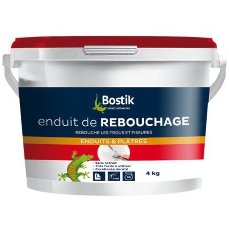 BOSTIK - Enduit de rebouchage - pâte 4 Kg