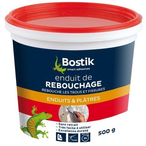 BOSTIK - Enduit de rebouchage - pâte 500g