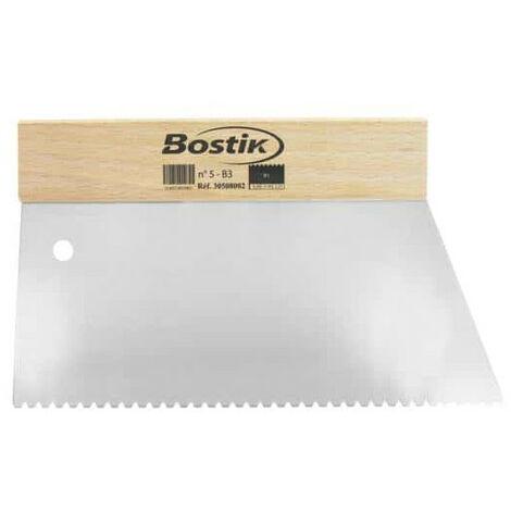 Bostik glue spatula to No. 5
