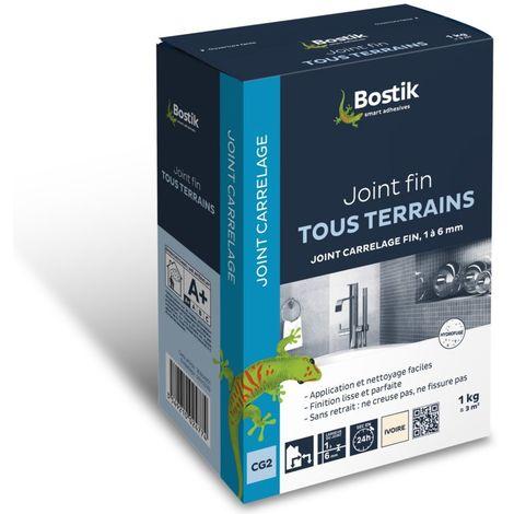 Bostik Joint fin pour carrelage 1kg