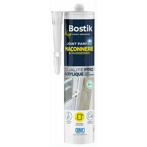 Bostik mastic acrylique Parfait Maçonnerie et Portes 280ml