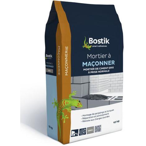 Bostik Mortier à maçonner 10kg