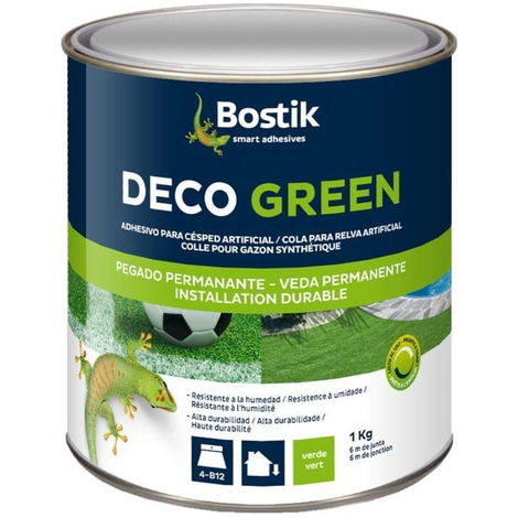 BOSTIK Pot de colle pourg gazon Synthetique - Pot de 1kg