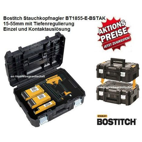 "Bostitch BT1855-E-BSTAK 15-55mm Stiftnagler für Stauchkopf Nägel Prebena J BR-03""-""BT1855-E-BSTAK"