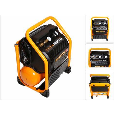 Bostitch RC10SQ-E Compresor de 9,4 litros / 13,78 bar / 230 V extremadamente silencioso