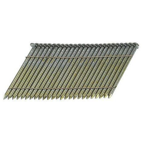 Bostitch S310R90 3.1 x 90mm 28 Deg. Stick Nail Ring Shank Bright Pack of 2000