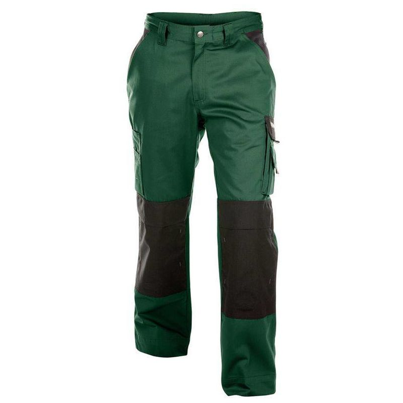 BOSTON pantalon jardinier 300G Vert/Noir - T. 64 - Dassy