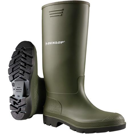 Dunlop botas de goma Dee verde talla 44